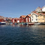 Sjöbodar i Grundsund